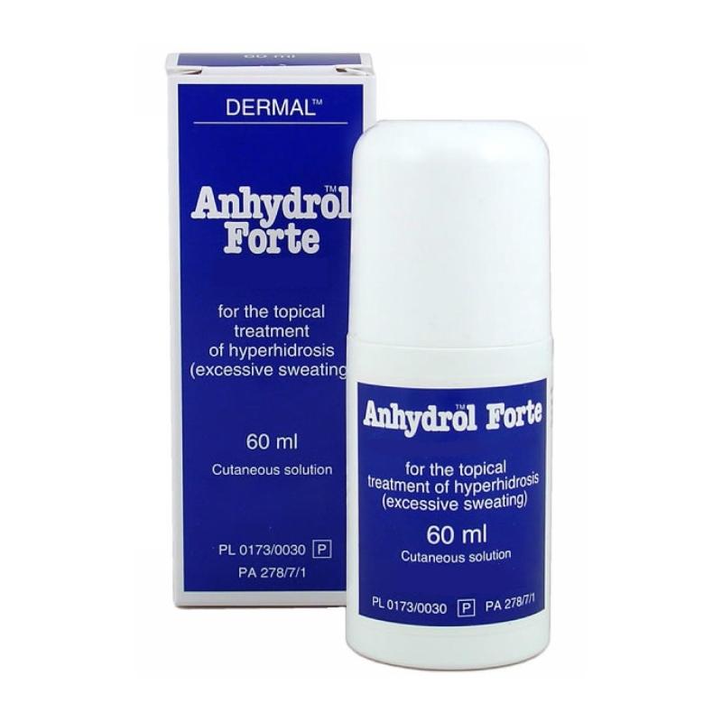 Anhydrol 60ml - účinný prípravok proti poteniu